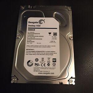 """Seagate 4 TB hard drive 6gb/s SATA, 3.5"""" internal 4000 GB"""