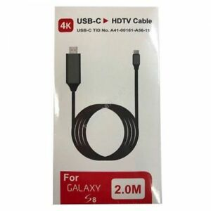 USB-C to HDTV Cable for Samsung Galaxy S8