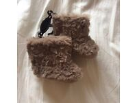 Cute baby girl winter boots