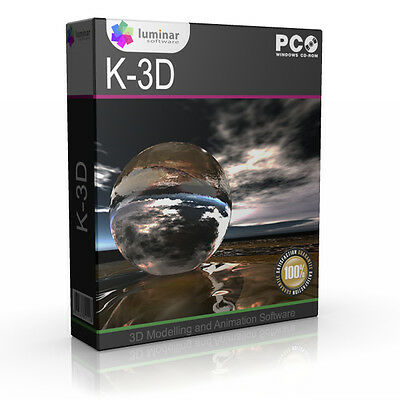 K-3D Modeling Animation Cartoon App Application NEW Software