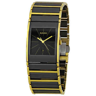 Rado Integral Gold PVD Coated and Ceramic Men's Watch R20787162