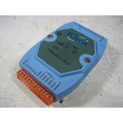 Used Icp Con I-7055 Data Aquisition Module 1pcs