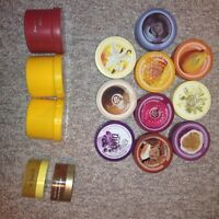 All brand new The body shop body butters and scrub