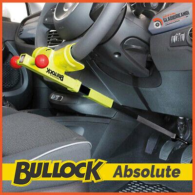 BULLOCK Absolute - Antifurto Bloccasterzo Auto Universale Blocca Volante Pedali