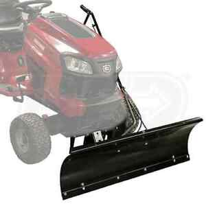 craftsman lawn tractor plow attachment