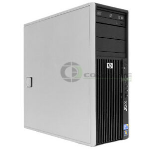 hp z400 workstation barebone system cpu psu motherboard dvd rom 460839 002 ebay. Black Bedroom Furniture Sets. Home Design Ideas