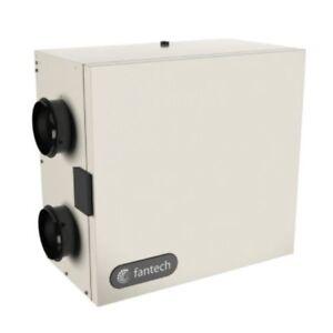 Fantech SH - 56 CFM - Heat Recovery Ventilator (HRV) - Side Ports - 4