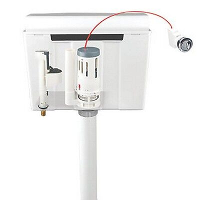Flomasta Concealed Wall-hung 6Ltr Cistern Dual-Flush Easy To Install
