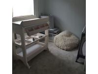 Cream Babylo Baby Changing Table