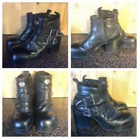 Woman's Harley boots