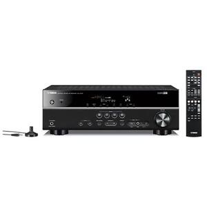Yamaha RX-V375  5.1 Channel 3D 4K A/V Home Theater Receiver (Black)
