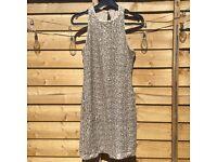 *Brand new* gold sequin summer / wedding guest dress from Hollister