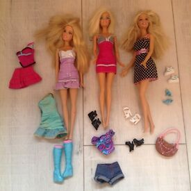 Triple Barbie set