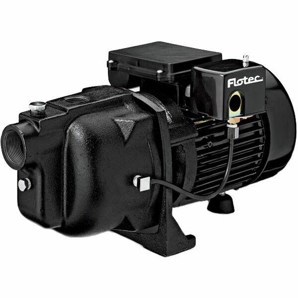 Принадлежности и запчасти для насосов (Насосы) Flotec FP4150 - 21 GPM 1 HP Cast Iron Shallow Well Jet Pump