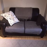 Comfy love seat and chair