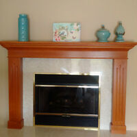 """42"""" Fireplace - Wood or Gas"""