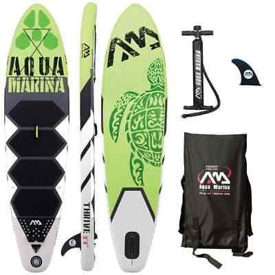 Aqua Marina Thrive    99  Inflatable Stand Up Paddle Board  Sup  W  Paddle
