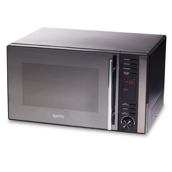 Igenix IG2590 Combination Microwave Oven, 25 Litre - Black
