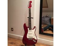 Fender 04 American Standard Stratocaster - Limited Edition with Matching Headstock - Candy Apple Red