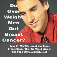 Want New Health? June 9th  7 PM Whitespot Max Health