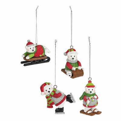 Polar Bear Ornament (Whimsical Polar Bear Ornament)