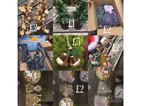 Job lot Xmas decorations and tree. Will sell separate!!