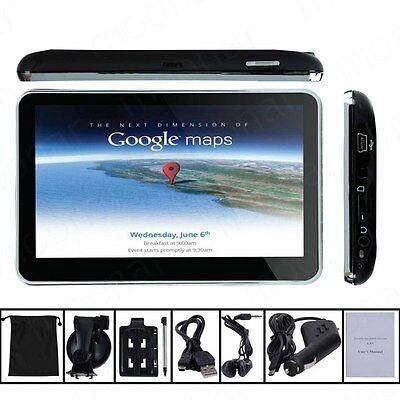 "5"" 4GB HD Screen Car GPS Navigation SAT NAV Free US Maps Updates+Sunshade+Bag on Rummage"