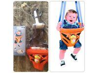 Disney Tigger Door Baby Bouncer