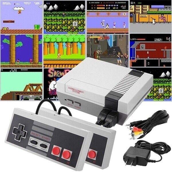 Mini Retro Nintendo NES Console Built In 620 Classic Games