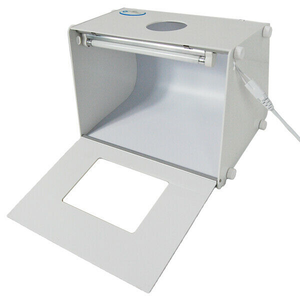 Mini Photo Studio Box Portable Foldable Photography Box Tent with built-in Light