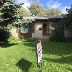 3 bed main level .$1100 plus shared utilities