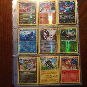 110 Assorted Pokemon Cards - No Doubles