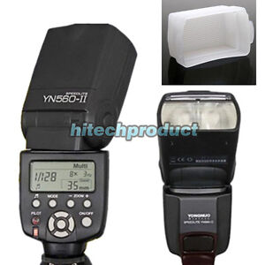 Yongnuo YN-560 II YN560II Flash Speedlite w LCD For Canon 580EX II 600D 7D 5D