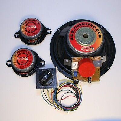 Williams Pinball 2000 Star Wars Episode 1 Speaker Upgrade from Pinball Pro