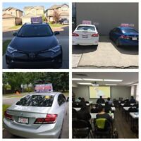 Driving School Edmonton- lessons/ Rated No.1  in Edmonton