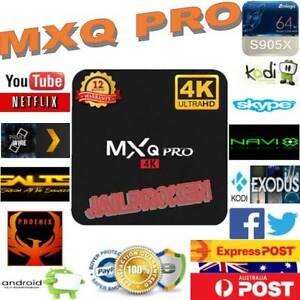 NEW MXQ PRO 4K KODI 17.1 ANDROID 6.0 SMART TV BOX AMLOGIC S905X Ashwood Monash Area Preview