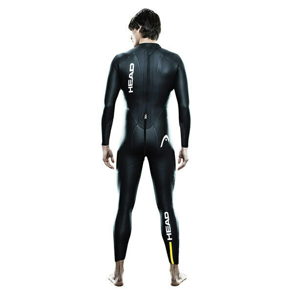 HEAD Men's Tricomp 12 Triathlon Wetsuit, Black, Size M/L