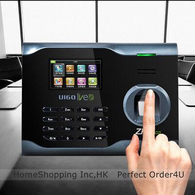 Zkteco Fingerprint Time Attendance Zk Wifi Fingerprint Time Clock U160 Tcpip