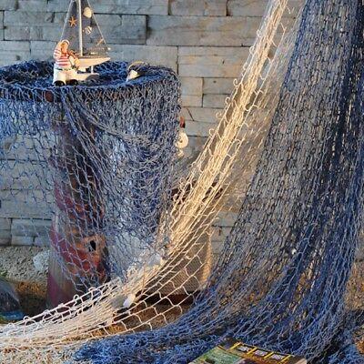 Deko Fischernetz Fischernetz mit Muscheln Maritim Strand Urlaub Meer 100x200 cm