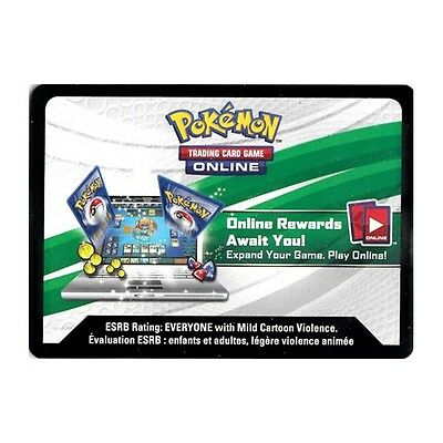 20 Sun & Moon GUARDIANS RISING Pokemon Booster Pack Code Cards Hourly Delivery