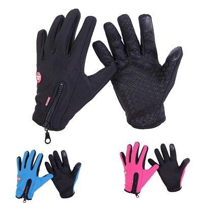 Touchscreen Fleece Liner Gloves Warm Winter Snow Sports Ski Snowboard Waterproof