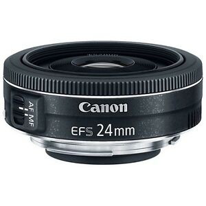 Canon T3i with Canon 24mm pancake lens