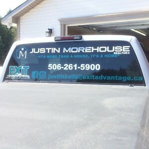 Decals, Window Lettering, Vehicle Lettering