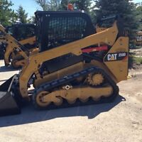 Skid steer for hire professional service