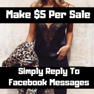 Commission Sales Job - Simply Reply To Facebook Messages