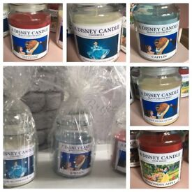 Disney large personalised candles
