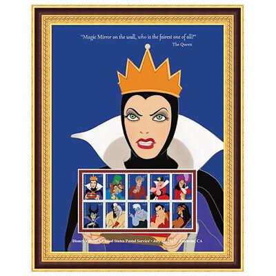 USPS New Disney Villains The Queen Framed Art