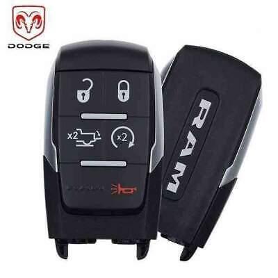 2019-2020 Dodge Ram Pickup HD 2500-5500 / 5-Button Smart Key / PN: 68374994AB /