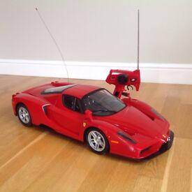 New scaled remote model Ferrari