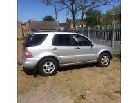 Mercedes ml270 Cdi 2005 £2850